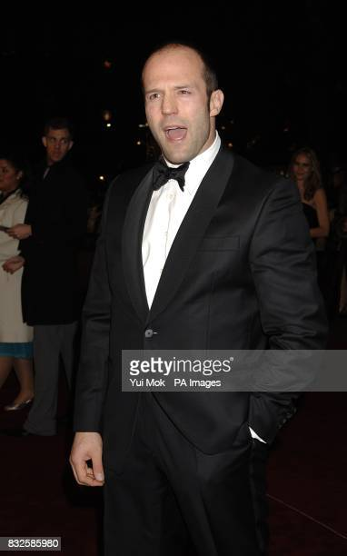 Jason Statham arrives for the World Premiere and Royal Performance of Casino Royale Odeon Leicester Square London Picture date Tuesday 14 October...