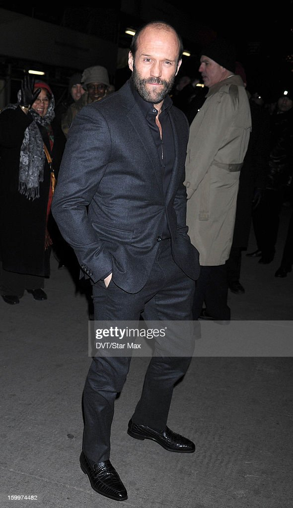 Jason Statham as seen on January 23, 2013 in New York City.