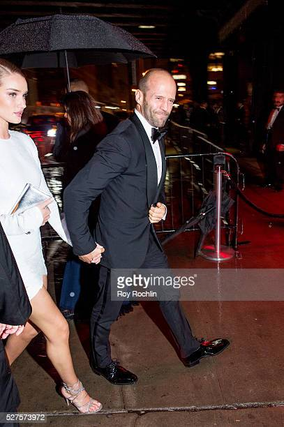 Jason Statham attends the after Party at the Standard Hotel following 'Manus x Machina Fashion In An Age Of Technology' Costume Institute Gala on May...