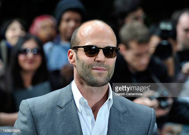 Jason Statham attends the European premiere of 'Safe' at the BFI IMAX on April 30 2012 in London England