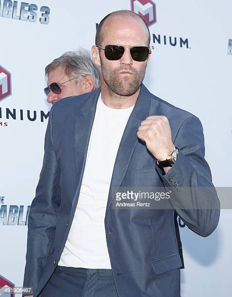 Jason Statham attends 'The Expendables 3' photocall during the 67th Annual Cannes Film Festival on May 18 2014 in Cannes France