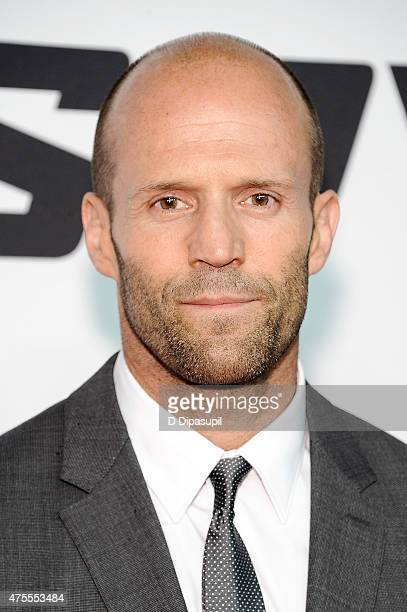 Jason Statham attends the 'Spy' New York Premiere at AMC Loews Lincoln Square on June 1 2015 in New York City
