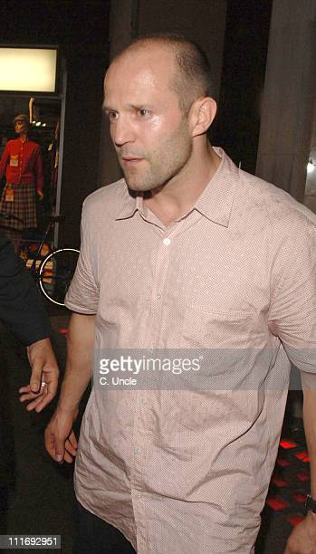 Jason Statham during Celebrity Sightings at the Cuckoo Club July 26 2006 in London Great Britain