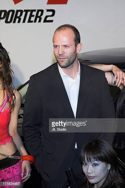 Jason Statham during 'Transporter 2' Tokyo Press Conference at Izumi Garden Gallery in Tokyo Japan