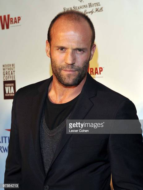 Jason Statham enter caption here at Four Seasons Hotel on March 1 2010 in Beverly Hills California