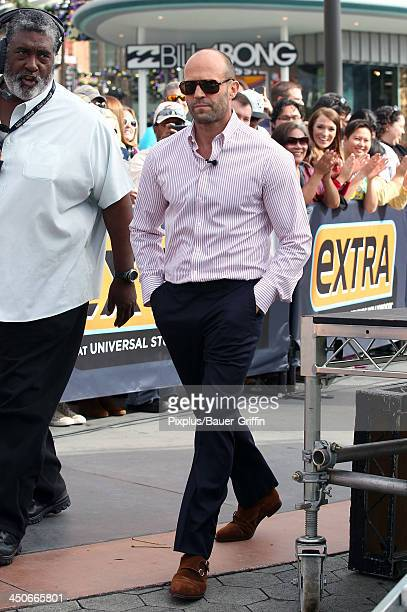 Jason Statham is seen on November 19 2013 in Los Angeles California