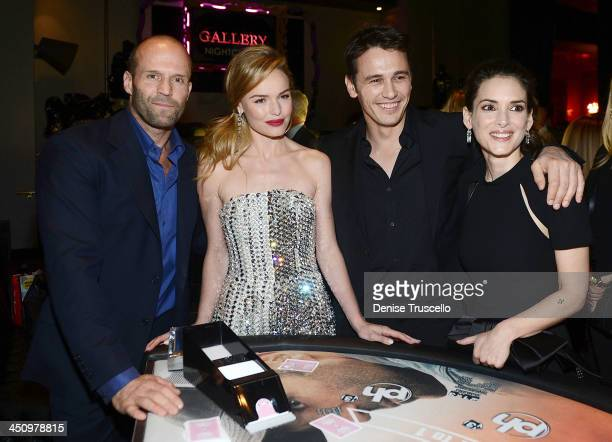 Jason Statham Kate Bosworth James Franco and Winona Ryder attend the 'Homefront' premiere at Planet Hollywood Resort Casino on November 20 2013 in...