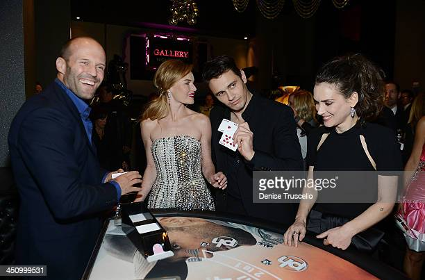 Jason Statham Kate Bosworth James Franco and Winona Ryder attend the Homefront premiere at Planet Hollywood Resort Casino on November 20 2013 in Las...