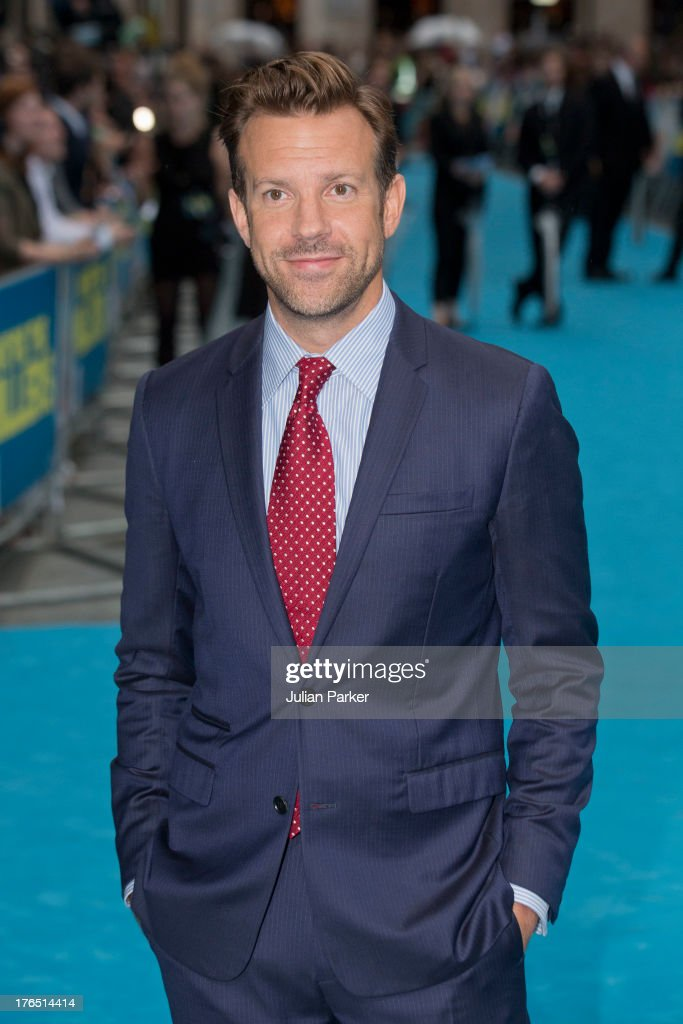 <a gi-track='captionPersonalityLinkClicked' href=/galleries/search?phrase=Jason+Sudeikis&family=editorial&specificpeople=4232997 ng-click='$event.stopPropagation()'>Jason Sudeikis</a> attends the European premiere of 'We're The Millers' at Odeon West End on August 14, 2013 in London, England.