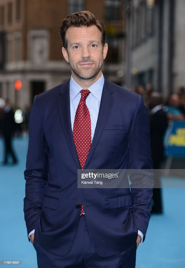 <a gi-track='captionPersonalityLinkClicked' href=/galleries/search?phrase=Jason+Sudeikis&family=editorial&specificpeople=4232997 ng-click='$event.stopPropagation()'>Jason Sudeikis</a> attends the European premiere of 'We're The Millers' at the Odeon West End on August 14, 2013 in London, England.