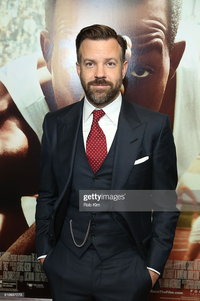 <a gi-track='captionPersonalityLinkClicked' href=/galleries/search?phrase=Jason+Sudeikis&family=editorial&specificpeople=4232997 ng-click='$event.stopPropagation()'>Jason Sudeikis</a> attends the New York Screening of 'Race' at Landmark's Sunshine Cinema on February 17, 2016 in New York City.