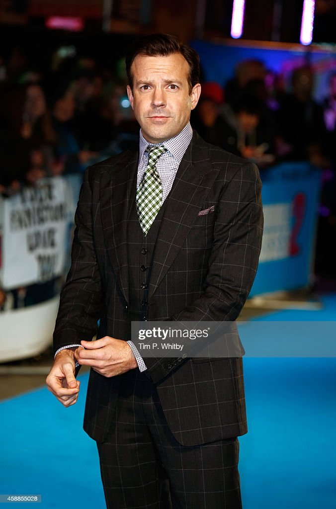 Jason Sudeikis attends the UK Premiere of 'Horrible Bosses 2' at Odeon West End on November 12, 2014 in London, England.
