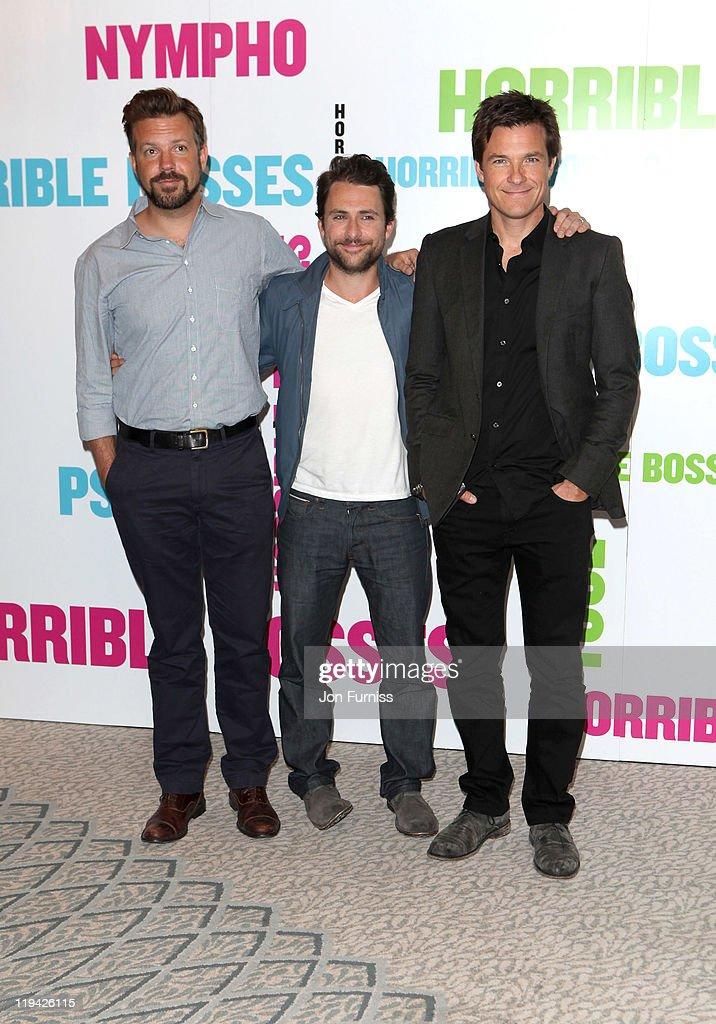 'Horrible Bosses' - UK Photocall