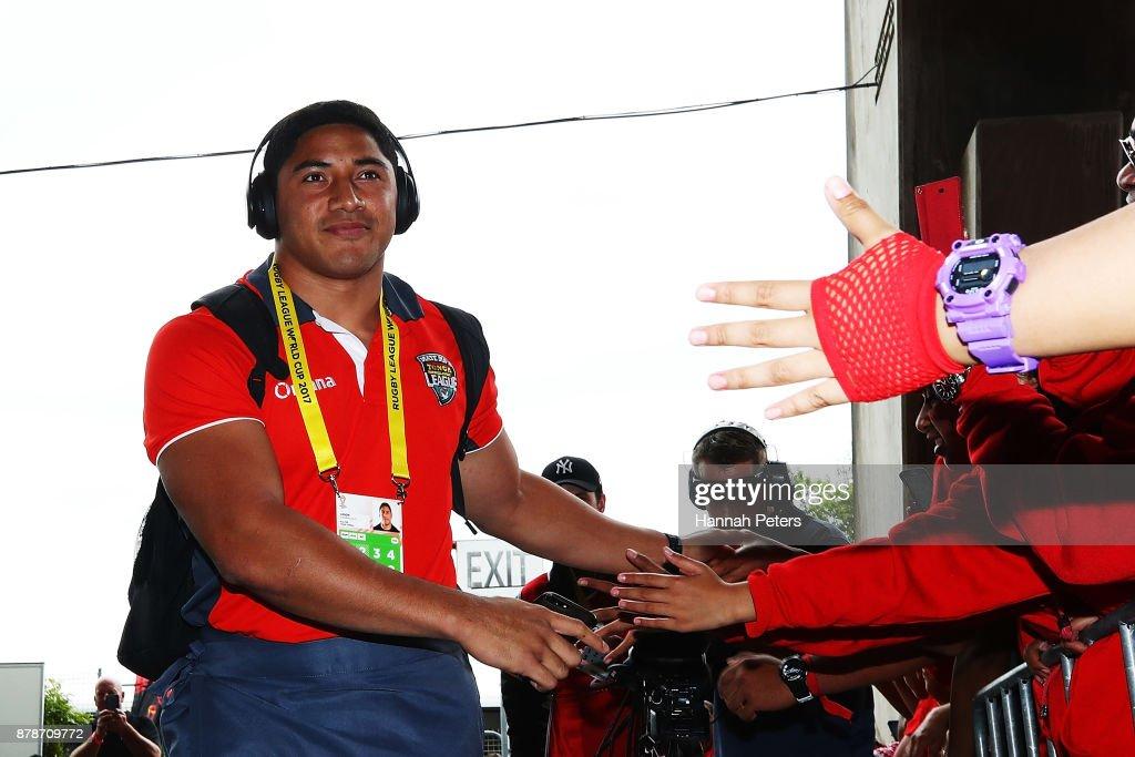 2017 Rugby League World Cup - Semi Final 2: Tonga v England