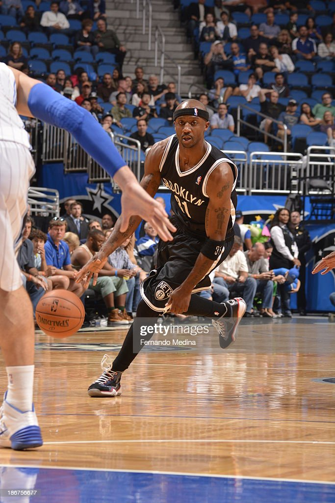 <a gi-track='captionPersonalityLinkClicked' href=/galleries/search?phrase=Jason+Terry&family=editorial&specificpeople=201734 ng-click='$event.stopPropagation()'>Jason Terry</a> #31 of the Brooklyn Nets drives to the basket against the Orlando Magic on November 3, 2013 at Amway Center in Orlando, Florida.