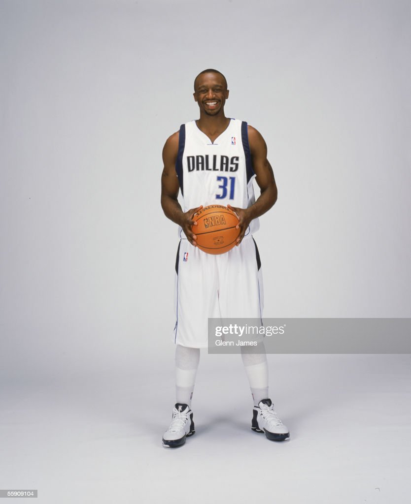 Jason Terry #31 of the Dallas Mavericks poses for a portrait during NBA Media Day on October 3, 2005 at American Airlines Arena in Dallas, Texas.