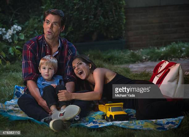 HOSPITAL Jason Thompson Braiden/Dylan Kazowski and Kelly Monaco in a scene that airs the week of June 29 2015 on ABC's 'General Hospital' 'General...
