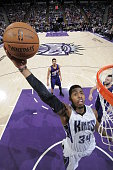 Jason Thompson of the Sacramento Kings dunks the ball against the Phoenix Suns at Sleep Train Arena on February 8 2015 in Sacramento California NOTE...