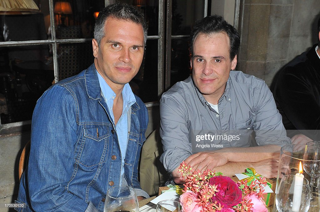 Jason Trotter and Matt Berman attend Lucky Brand's Measure of Style Dinner at Chateau Marmont on June 13, 2013 in Los Angeles, California.