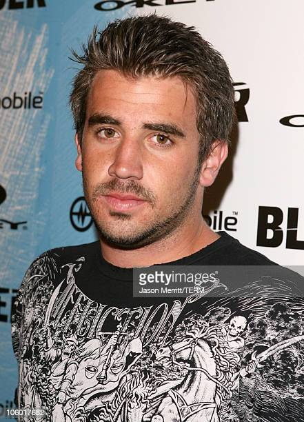 Jason Wahler during 2006 Blender/Oakley X Games Kick Off Party Red Carpet at Element in Hollywood California United States