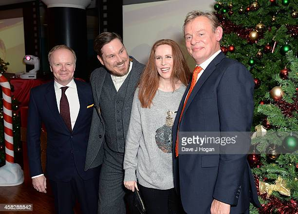 Jason Watkins Marc Wootton Catherine Tate and Martin Clunes attend the UK Premiere of 'Nativity 3 Dude Where's My Donkey' at Vue West End on November...
