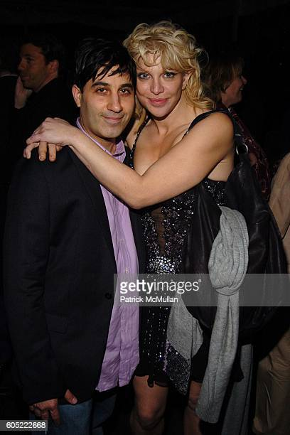 Jason Weinberg and Courtney Love attend HBO's Annual PreGolden Globes Party hosted by Colin Callender Chris Albrecht and Carolyn Strauss at Chateau...