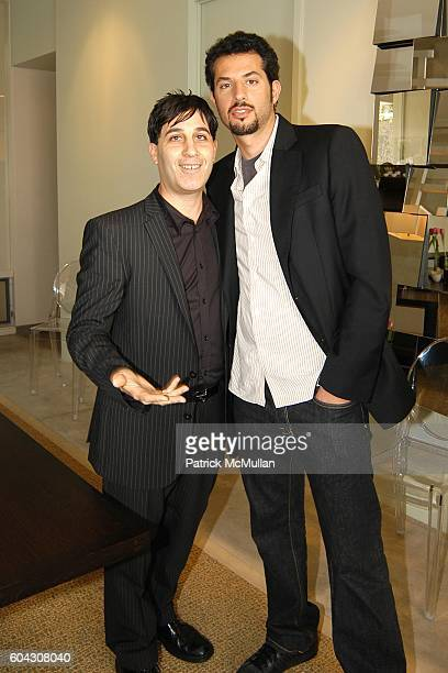 Jason Weinberg and Guy Oseary attend W Magazine Hollywood Retreat hosts a Pre Oscar Luncheon for Arianne Phillips at Private Residence on March 3...