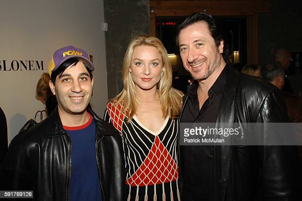 Jason Weinberg Elisabeth Rohm and attend Elisabeth Rohm and 7th on Sixth host Hurricane Relief Benefit on occasion of artist Hunt Slonem's new...