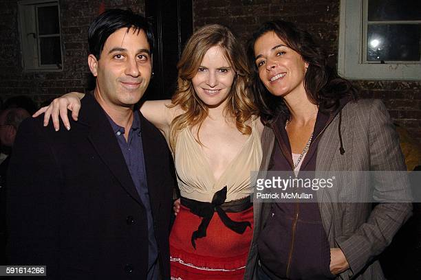 Jason Weinberg Jennifer Jason Leigh and Annabella Sciorra attend INTERVIEW MAGAZINE Afterparty for the Opening Night of the Off Broadway Play...