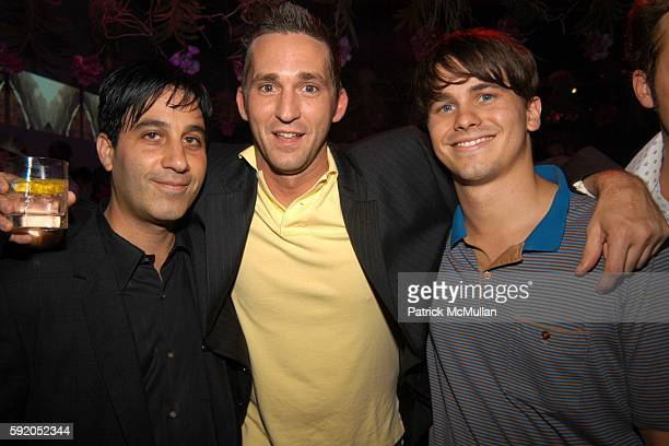 Jason Weinberg Merit Johnson and Jason Ritter attend Afterparty for the CALVIN KLEIN Spring 2006 Collection and Launch of EUPHORIA at Club Euphoria...