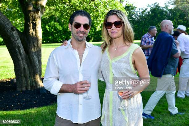 Jason Weiner and Francesca Valerio attend Maison Gerard Presents Marino di Teana A Lifetime of Passion and Expression at Michael Bruno and Alexander...