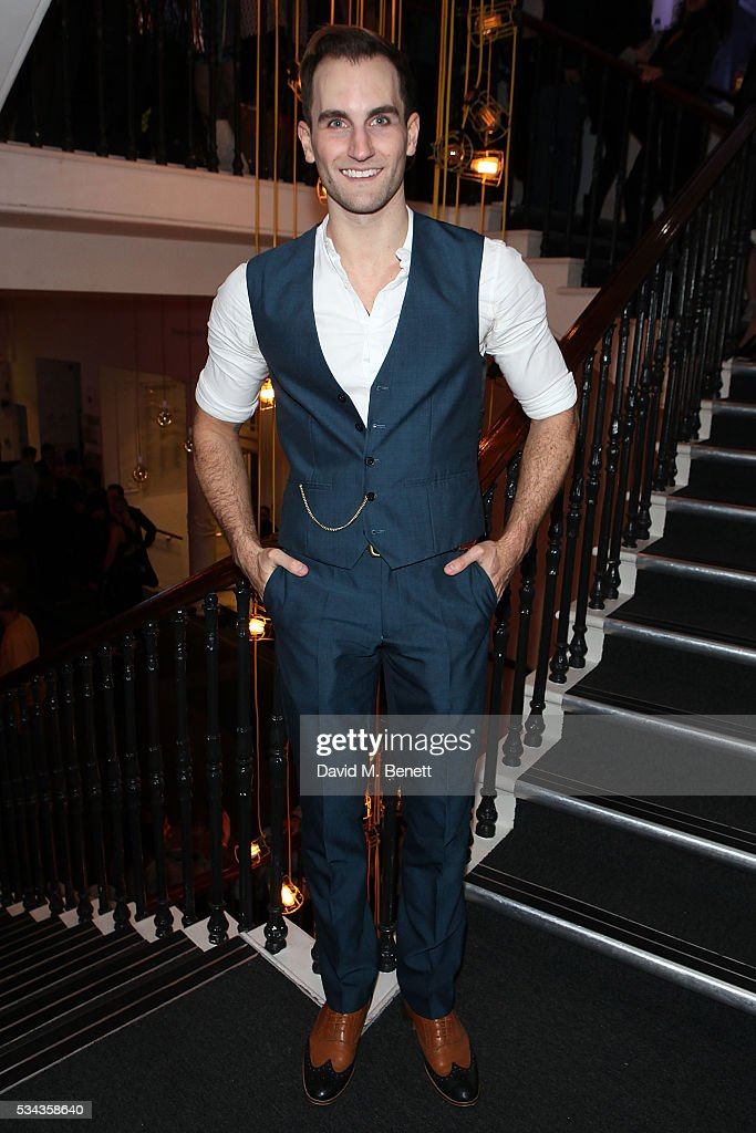 Jason Winter attends the press night after party for 'Jekyll Hyde' at The Old Vic Theatre on May 25 2016 in London England