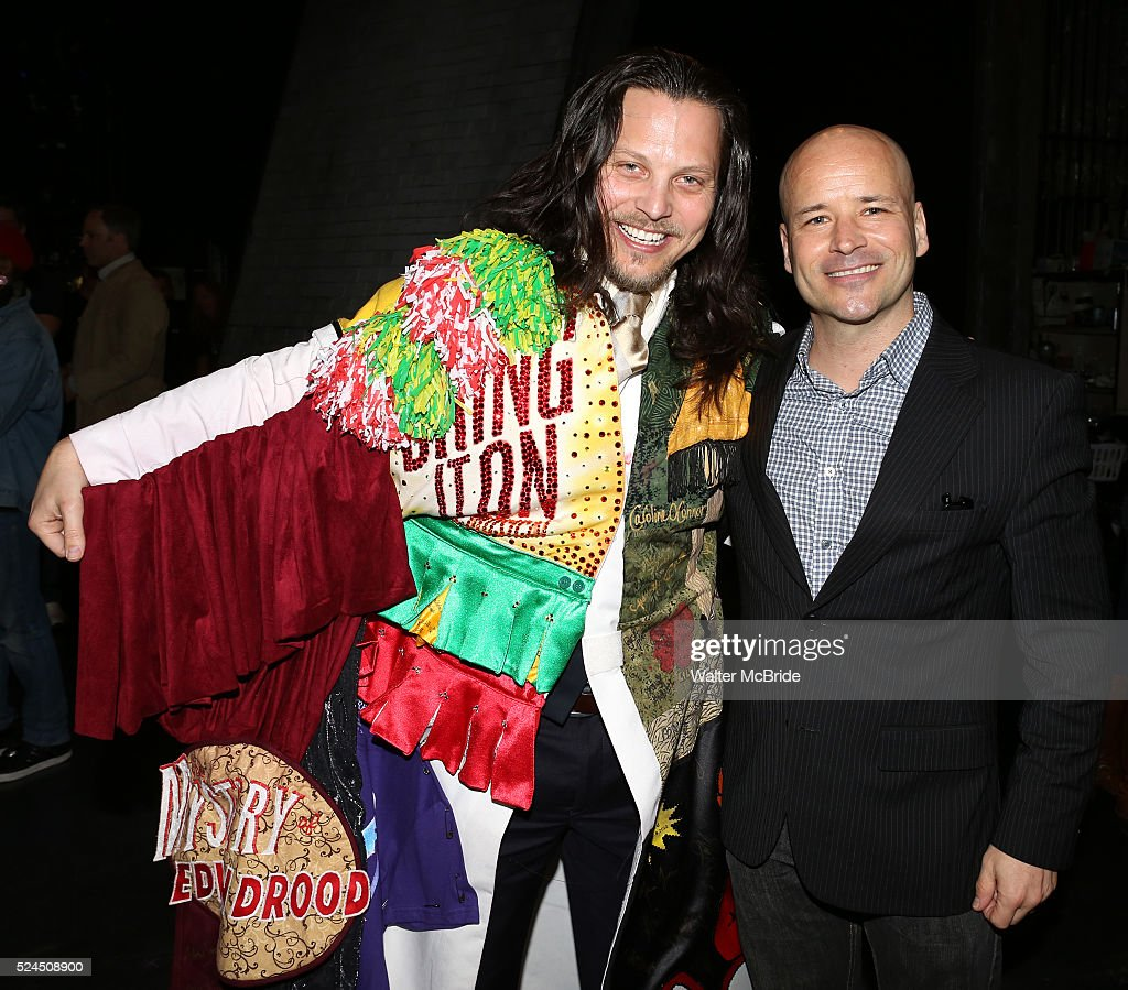 Jason Wooten Michael Arnold attending the Broadway Opening Night Gypsy Robe Ceremony honoring Jason Wooten for 'Jekyll Hyde The Musical' at the...