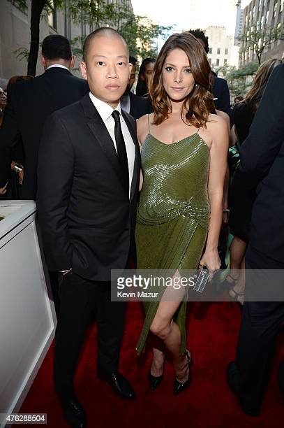 Jason Wu and Ashley Greene attend the 2015 Tony Awards at Radio City Music Hall on June 7 2015 in New York City