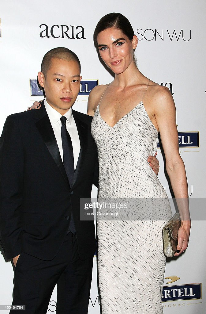 Jason Wu and Hilary Rhoda attend the 2014 Young Friends Of ACRIA Summer Soiree at Highline Stages on June 11, 2014 in New York City.