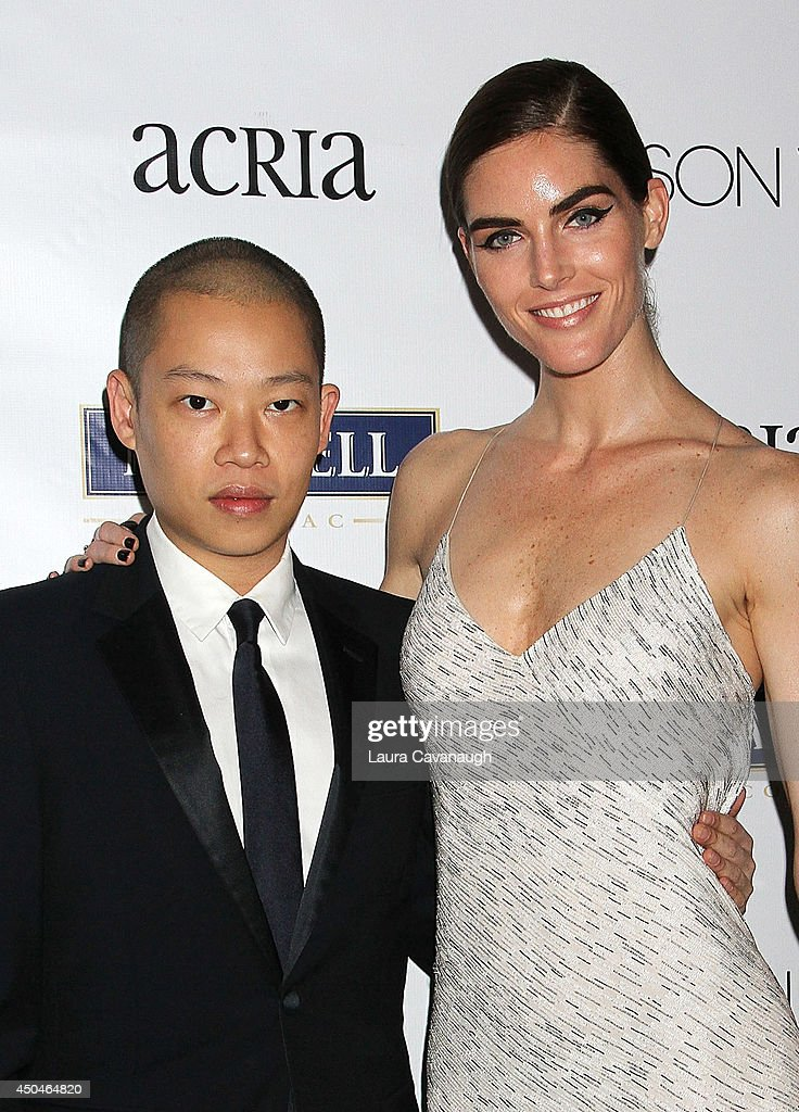 Jason Wu and <a gi-track='captionPersonalityLinkClicked' href=/galleries/search?phrase=Hilary+Rhoda&family=editorial&specificpeople=637945 ng-click='$event.stopPropagation()'>Hilary Rhoda</a> attend the 2014 Young Friends Of ACRIA Summer Soiree at Highline Stages on June 11, 2014 in New York City.