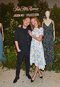 Marc Metrick, President Of Saks Fifth Avenue, And Mary...