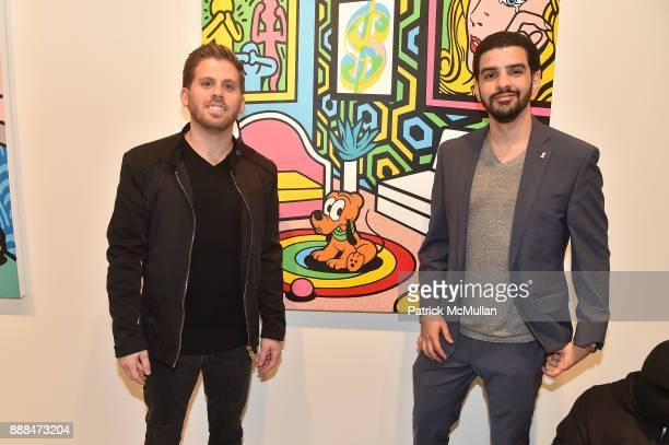 Jason Zarco and Marcelo Steinmander attend Art Miami VIP Preview at Art Miami Pavilion on December 6 2017 in Miami Beach Florida