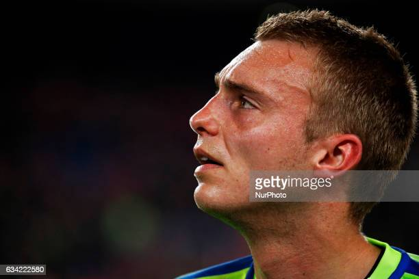 Jasper Cillesen during the 1/2 final King Cup match between FC Barcelona v Atletico de Madrid in Barcelona on February 07 2017 Photo Joan...