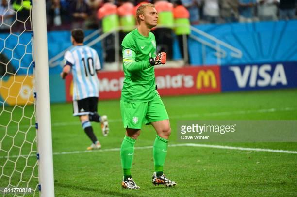 Jasper CILLESSEN Argentine / Pays Bas 1/2Finale Coupe du Monde Sao Paulo Photo Dave Winter / Icon Sport