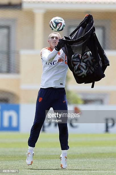 Jasper Cillessen during day 3 of the training camp of The Netherlands on May 22 2014 at Lagos Portugal
