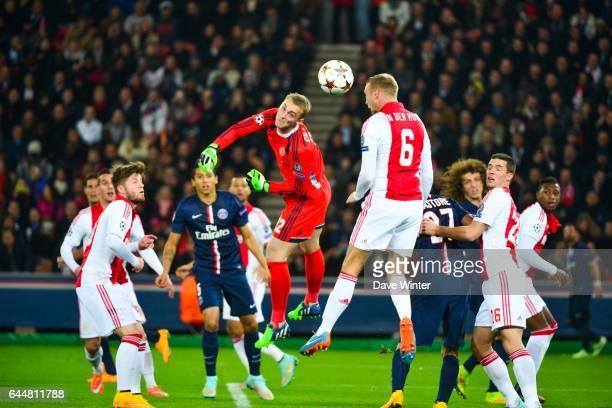 Jasper CILLESSEN / Mike van der HOORN Paris Saint Germain / Ajax Amsterdam Champions League Photo Dave Winter / Icon Sport