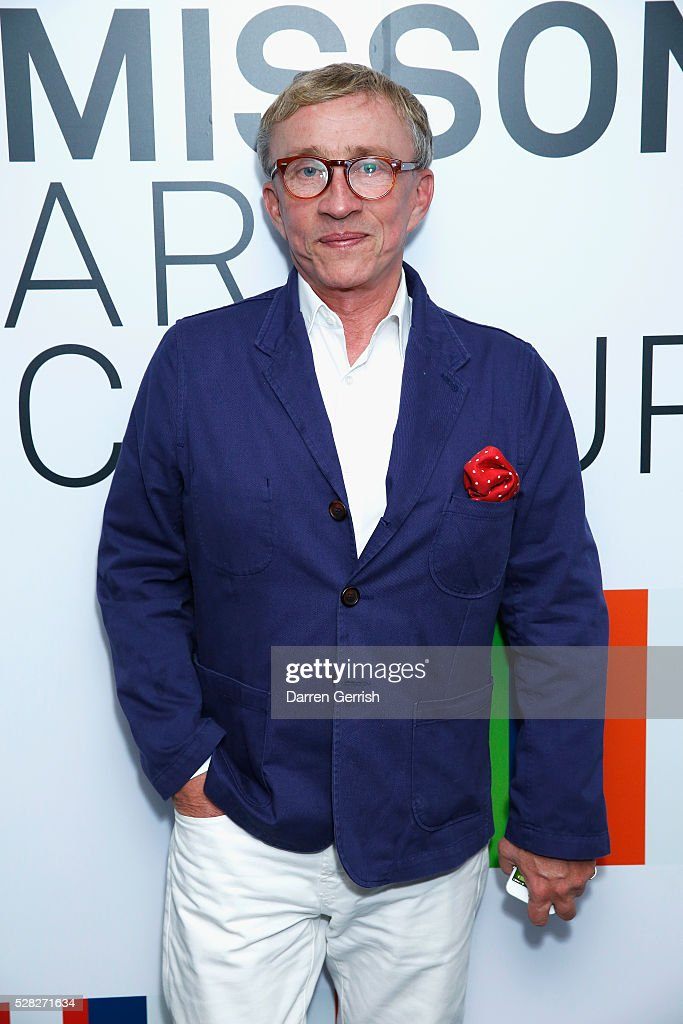 Jasper Conran attends the Missoni Art Colour preview in partnership with The Woolmark Company at The Fashion and Textile Museum on May 4, 2016 in London, England.