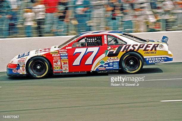 Jasper Engine's car on the track at the Watkins Glen International raceway Watkins Glen New York 1997