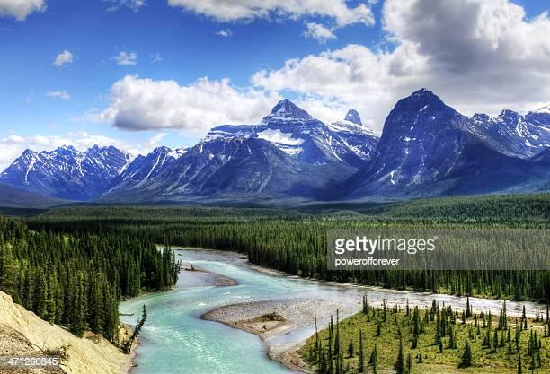 Jasper National Park Landscape - HDR