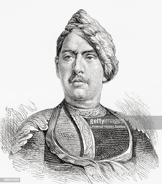 Jaswant Singh Maharaja Of Bharatpur Rajasthan India 18511893 From El Mundo En La Mano Published 1878