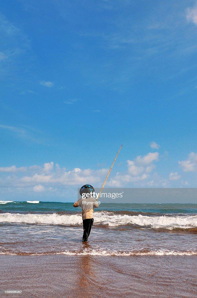 Java Indonesia - fishing : Stock-Foto