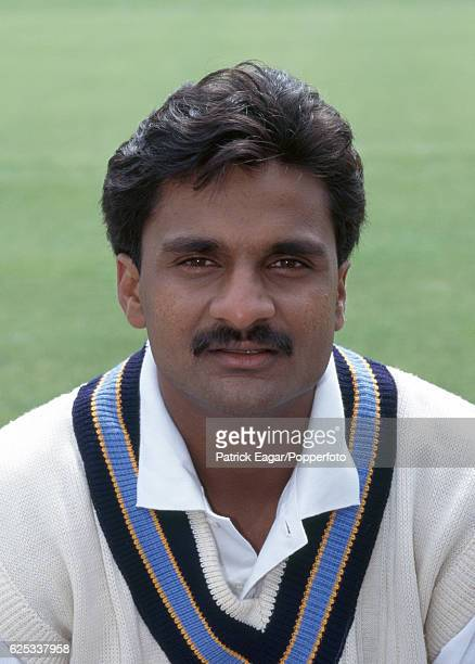 Javagal Srinath of India during the 1996 tour of England circa May 1996