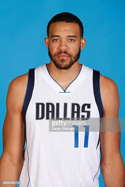 JaVale McGee of the Dallas Mavericks poses for a head shot during Media Day on September 28 2015 at the American Airlines Center in Dallas Texas NOTE...