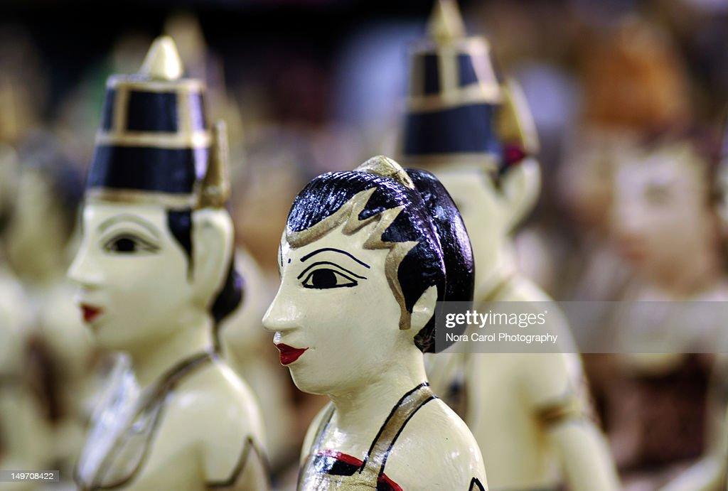 Javanese dolls : Stock Photo